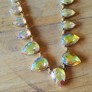 Jcrew Iridescent Aurora Borealis Necklace